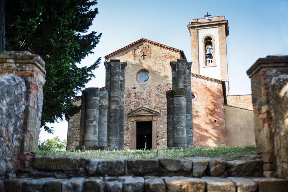 La pieve di Sant'Appiano nel comune di Barberino val d'Elsa